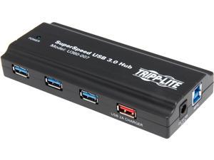 Tripp Lite 7-Port USB 3.0 SuperSpeed Hub with Dedicated 2A USB Charging Port (U360-007)