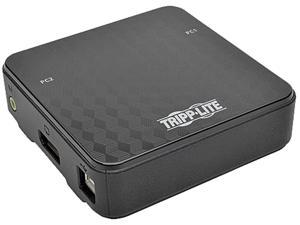 Tripp Lite 2-Port DisplayPort 1.2 KVM Switch with Audio, Cables and USB Peripheral Sharing (B004-DP2UA2-K)