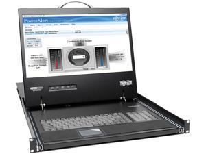 Tripp Lite 16-Port 1U Rack Console IP KVM Switch 2+1 Users w/ 19in. Screen (B070-016-19-IP2)