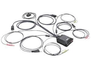Tripp Lite B032-DPUA2 2-Port DisplayPort 1.1/USB KVM Switch