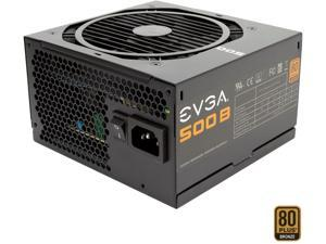 EVGA 500 B1 100-B1-0500-KR 80+ BRONZE 500W Includes FREE Power On Self Tester Power Supply
