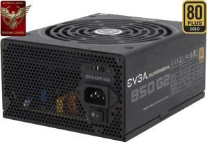 EVGA SuperNOVA 850 G2 220-G2-0850-XR 80+ GOLD 850W Fully Modular EVGA ECO Mode Includes FREE Power On Self Tester Power Supply