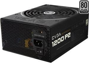 EVGA SuperNOVA 1200 P2 220-P2-1200-X1 80+ PLATINUM 1200W Fully Modular EVGA ECO Mode Includes FREE Power On Self Tester Power Supply