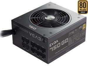 EVGA 750 GQ 210-GQ-0750-V1 80+ GOLD 750W Semi Modular EVGA ECO Mode Power Supply