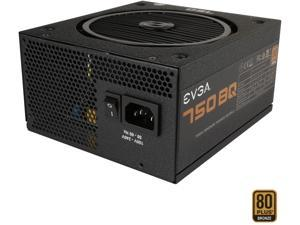 EVGA 750 BQ 110-BQ-0750-V1 80+ BRONZE 750W Semi Modular Includes FREE Power On Self Tester Power Supply