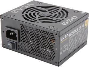 EVGA SuperNOVA 650 GM, 80 Plus Gold 650W, Fully Modular, ECO Mode with DBB Fan, Includes Power ON Self Tester, SFX Form Factor, Power Supply, 123-GM-0650-Y1