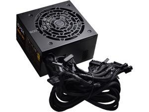 EVGA 500 GD 100-GD-0500-V1 500W ATX12V / EPS12V 80 PLUS GOLD Certified Non-Modular Active PFC Power Supply