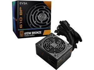 EVGA 610 BP, 80+ BRONZE 610W, 3 Year Warranty, Power Supply 100-BP-0610-K1