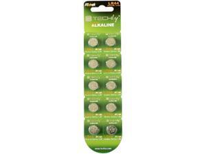 Techly IBT-KLR44 10-pack 145mAh Alkaline Button Battery Batteries