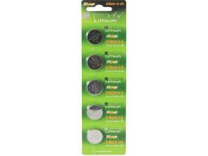 Techly IBT-KCR2016 5-pack Button Lithium Battery Batteries