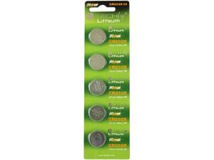 Techly IBT-KCR2025 5-pack 150mAh Lithium Button Batteries Batteries