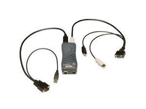 Lantronix SLSLP400USB-01 SecureLinx SpiderDuo KVM Switch