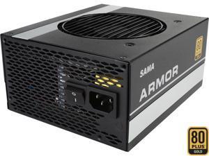 SAMA Armor 750 750W ATX12V SLI Ready CrossFire Ready 80 PLUS GOLD Certified Full Modular Active PFC Power Supply