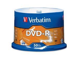 Verbatim 4.7GB 16X DVD-R 50 Packs Disc with Advanced Azo Recording Dye Model 95101