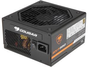 COUGAR GX-F Series GXF550 550W ATX12V / EPS12V 80 PLUS GOLD Certified Full Modular Power Supply