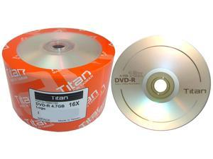 Titan 4.7GB 16X DVD-R Logo 50 Packs Disc Model T6891192