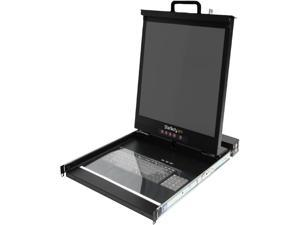 "StarTech.com RACKCONS1916 1U 19"" Folding Rackmount LCD Console with 16 Port Multi-Platform KVM"