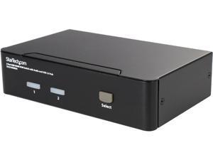StarTech.com SV231HDMIUA 2 Port USB HDMI KVM Switch w/ Audio & USB 2.0 Hub