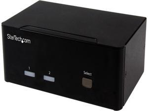 StarTech.com 2-port KVM Switch with Dual VGA and 2-port USB Hub - USB 2.0