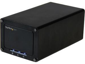 "StarTech.com USB 3.1 Gen 2 (10Gbps) External Enclosure for Dual 2.5"" SATA Drives - with RAID & UASP"