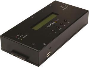 "StarTech.com SATSASDUPE11 2.5"" & 3.5"" Black SAS/SATA 1:1 Standalone Hard Drive Duplicator and Eraser for 2.5"" / 3.5"" SATA and SAS Drives"