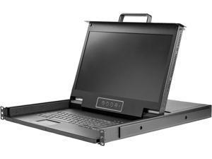 StarTech.com RKCONS17HD Rackmount KVM Console - 1U - 17.3in Display - 1080p HD - Single Port KVM - Rack Mount Monitor - Rackmount LCD Monitor