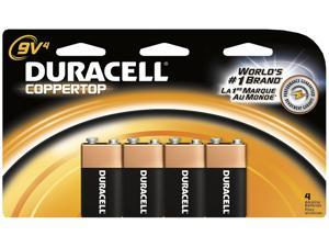 DURACELL CopperTop MN1604 9V Alkaline Battery, 12-box