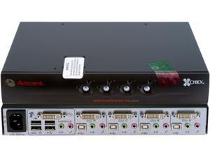 Avocent SC440-001 SwitchView SC 1 x 4 Secure KVM Desktop Appliance