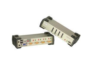 ATEN CS1734B 4-Port USB KVMP Switch with Audio Support