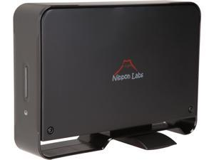 Nippon Labs NL-ST0020B Hard Drive Enclosure USB 3.0 to SATA - External Hard Drive Dock Case for 3.5 inch HDD Enclosure