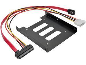 Tripp Lite 2.5 Inch SATA Hard Drive to 3.5 Inch Drive Bay Mounting Kit (P948-BRKT25)