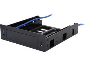 """VANTEC HDA-502H USB 3.0 Front Panel with 5.25"""" HDD/SSD Bracket"""
