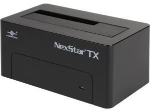 """VANTEC NST-D328S3-BK 2.5""""/3.5"""" HDD/SSD/Hybrid Drive Black Standard SATA III USB Type B NexStar TX USB 3.0 Hard Drive Dock"""