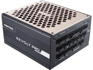 Phanteks Revolt Pro Series PH-P850GC, 80PLUS GOLD, Fully Modular, Patented Power Combo Technology, 850W ATX Power Supply
