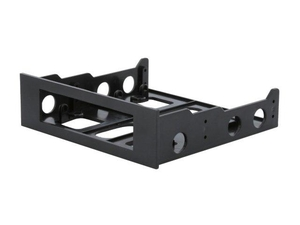 "BYTECC Bracket-525 3.5"" Drive/Device Transfer Bracket For 5.25"" Drive Bay (Black)"