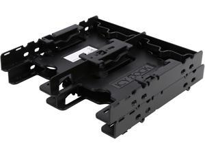 "ICY DOCK 4 x 2.5"" HDD / SSD Bracket Mount Kit Adapter for 5.25"" Drive Bay - FLEX-FIT Quattro MB344SP"