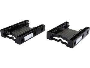 """ICY DOCK MB290SP-B DUAL EZ-Fit Lite 2 x 2.5"""" to 3.5"""" Drive Bay SATA/IDE SSD/HDD Mounting Kit / Bracket / Adapter"""