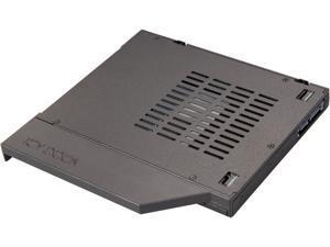 "ICY DOCK ToughArmor MB411SPO-1B (Fits 12.7mm height ODD Slot) 2.5"" SSD / HDD Hot-Swap SATA Mobile Rack for 12.7mm Slim CD/DVD-ROM Optical Bay"