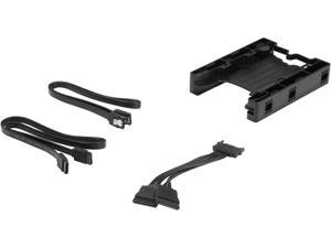 "ICY DOCK EZ-Fit Lite MB290SP-1B (with SATA Cable) Dual 2.5"" HDD & SSD Light Weight Mounting Bracket for Internal 3.5"" Drive Bay"