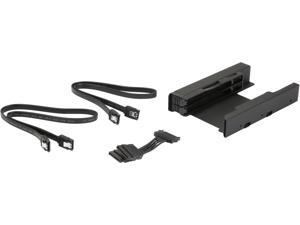 "ICY DOCK MB082SP-1 EZ-FIT PRO Dual 2.5"" HDD & SSD Full Metal Mounting Bracket for Internal 3.5"" Drive Bay w/ Cable"