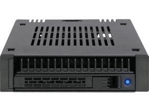"""ICY DOCK ExpressCage MB741SP-B 1x 2.5"""" SAS/SATA HDD/SSD Mobile Rack for External 3.5"""" bay - Comparable to Tray-Less Design"""