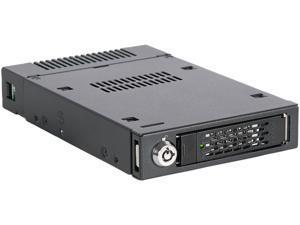 "ICY DOCK ToughArmor MB601M2K-1B M.2 PCIe NVMe SSD Mobile Rack for External 3.5"" Drive Bay"