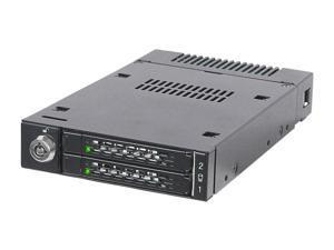 ICY DOCK ToughArmor MB601M2K-1B M.2 NVMe PCIe Hot Swap Removable Frame Full Metal