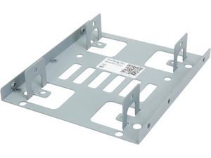 "StarTech.com BRACKET25X2 Dual 2.5"" to 3.5"" Hard Drive Bay Mounting Bracket - 2.5"" to 3.5"" HDD / SSD Mounting Bracket w/ SATA Power and Data cabling"