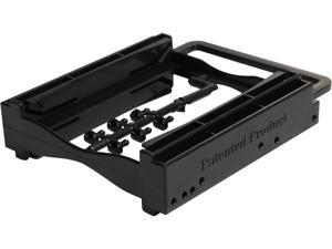 "StarTech.com Dual 2.5"" SSD/HDD Mounting Bracket for 3.5"" Drive Bay - Tool-Less Installation - 2-Drive Adapter Bracket for Desktop Computer BRACKET225PT"