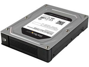 "StarTech.com 35SAT225S3R Dual-Bay 2.5"" to 3.5"" SATA Hard Drive Adapter Enclosure with RAID"