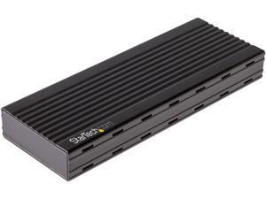 StarTech.com M2E1BMU31C M.2 NVMe SSD Enclosure for PCIe SSDs - USB 3.1 Gen 2 Type-C