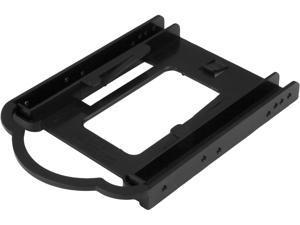 "StarTech.com BRACKET125PTP 2.5"" SSD/HDD Mounting Bracket for 3.5"" Drive Bay - 5 Pack - Tool-less - Hard Drive Mounting Kit (BRACKET125PTP)"
