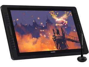Huion Kamvas Pro 22(2019) Drawing Monitor Pen Display 21.5 Inch IPS Graphic Tablets with Screen, Full-Laminated Technology, 8192 Battery-Free Pen