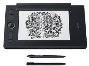 Wacom Intuos Pro Paper Edition Digital Graphic Drawing Tablet for Mac or PC, Medium (PTH660P)